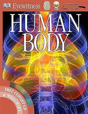 NEW DK Eyewitness HUMAN BODY PROJECT book with CLIPART CD WALLCHART