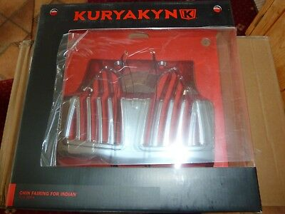 Kuryakyn 5664 Chrome Chin Fairing  For Indian Chief 14-18 Uk Stock