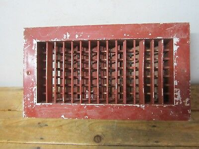 Vintage aluminum Floor Heat Grate Register Vent