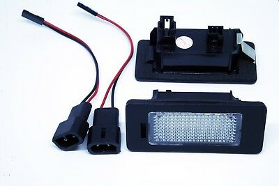 2x LED LICENSE NUMBER PLATE LIGHTS BMW E39 M5 4D CANBUS
