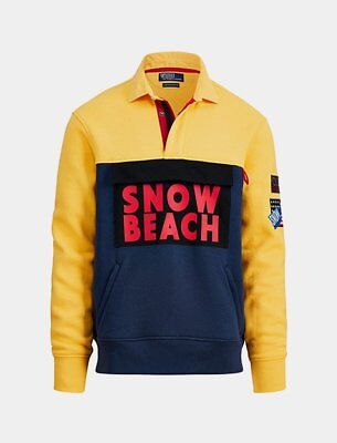 Polo Ralph Lauren Snow Beach Rugby Shirt Multi Colored L
