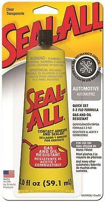 Seal All 2Oz Heavy Duty Sealant Contact Adhesive Glue Gas Oil Resistant