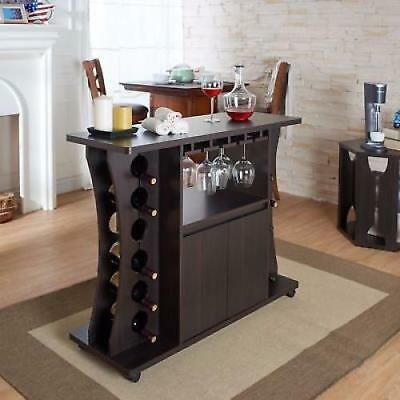 HOME BAR For Sale Furniture Pub Cabinet Contemporary Liquor Mini Bar ...