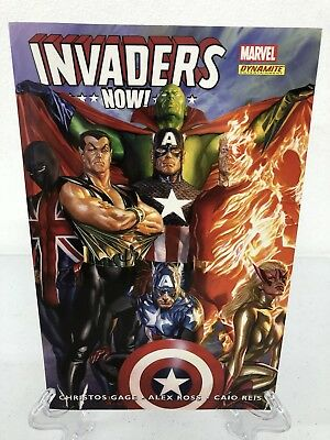 Invaders Now! Collects #1-5 Captain America Marvel Comics TPB Paperback NEW