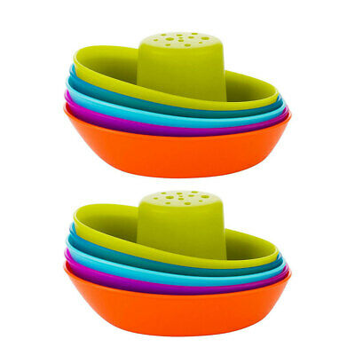 2PK Boon Fleet Stacking Boat/Ship Bath Time Toy/Play for Baby/Toddlers/Kids