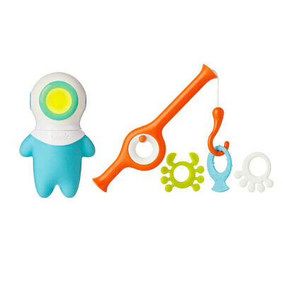 Boon Cast Fishing Pole w/ Marco Light Up Bath Toy for Baby/Toddler/Kids Game