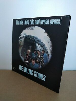 The Rolling Stones ‎– Big Hits (High Tide And Green Grass) Vinyl LP, Japanese