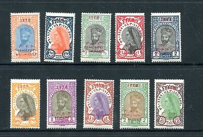 Ethiopia 165-74, 1928 Post Office Opening, Mint, Vlh (Id6849)