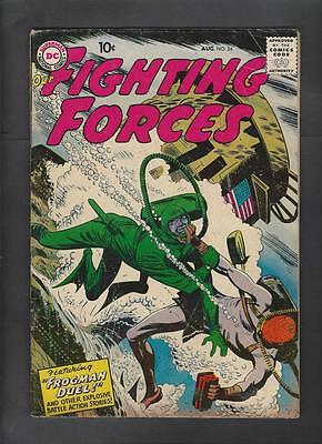 Our Fighting Forces 24 VG+ 4.5 Frogman Cover Hi-Res Scans