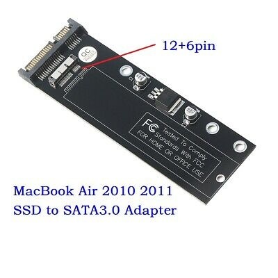 12+6pin SSD HDD to SATA 22Pin PCBA Hard Disk Cartridge Drive for Apple 2010 2011