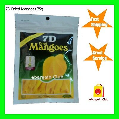 7D Dried Mango Philippines Mangoes 75g eBargainClub