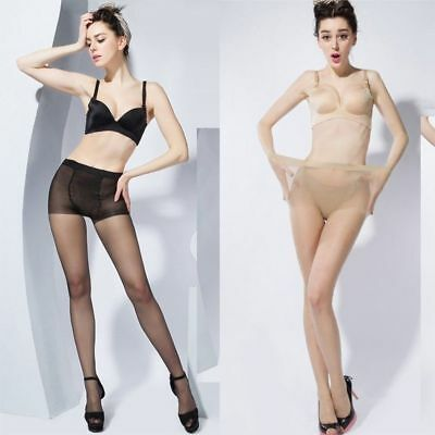 Women 30D Plus Size Super Elastic Stockings Magical Tights Shaping Pantyhose AU