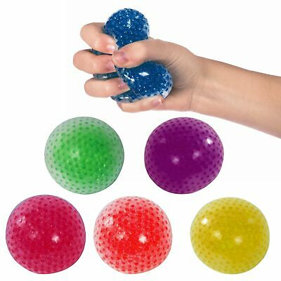 Squish-A-Ball Squeeze Stress Tension Release Fun Novelty Gift **FREE DELIVERY**