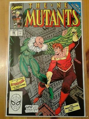 The New Mutants #86 (Feb 1990, Marvel) HIGH GRADE !!!! 1st Cable Cameo !!!!
