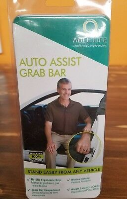 Able Life Auto Assist Grab Bar - Vehicle Support Handle and Standing Mobility