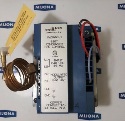 JOHNSON CONTROLS condenser fan control P65AAB-1C