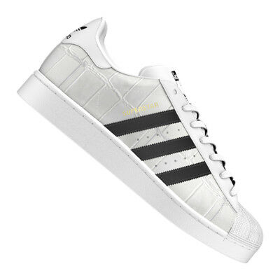 pretty nice 819d9 2adda adidas Originals Superstar Sneaker Weiss Schwarz