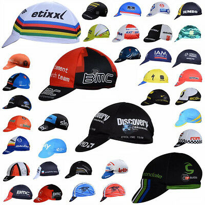 Many styles Bike Cycling Cap Sport Hat Bicycle Visor Hat Riding Road Headbands