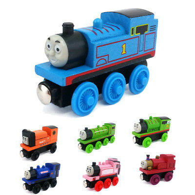 Thomas & Friends Railway Engine & Tender Magnetic Wooden Toy Train Loose New #1