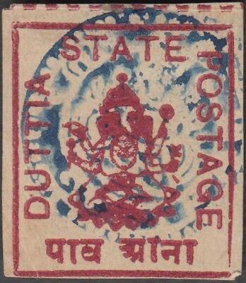 DUTTIA INDIAN STATE ¼a UNUSED SG 27 CV £5.50