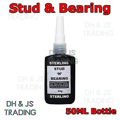 Stud & Bearing 50ML LOCTITE Adhesive Red Hi Strength Loctite Sealer Nutlock