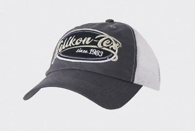 Helikon Tex Trucker Logo Cap - Cotton Twill - Shadow Grey Mütze