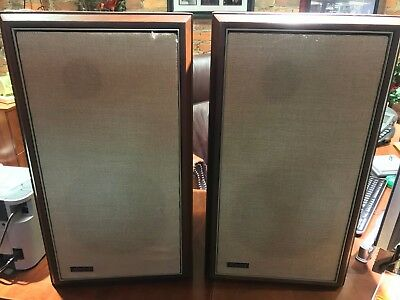 PAIR Advent The Advent Loudspeaker Henry Kloss Speakers Egg Tweeters REFOAMED