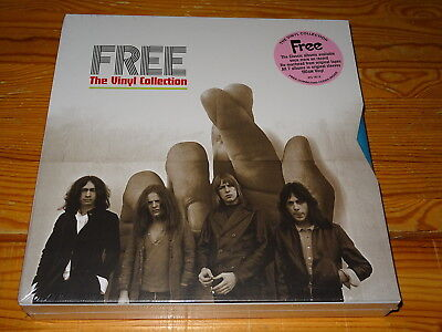 Free - The Vinyl Collection / 7-Lp-Box-Set 2016 Ovp! Sealed!