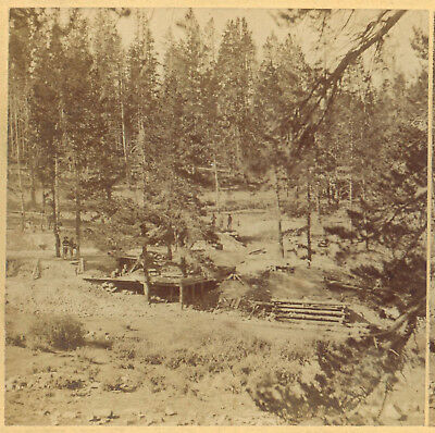 Leadville On The Start Silver Mines At The Beginning Stereoview Miners Mining