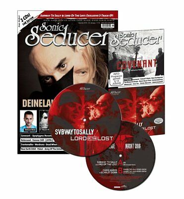 Subway To Sally & Lord Of The Lost lim. Picture Vinyl + Sonic Seducer 11/2016