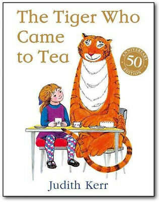 The Tiger Who Came to Tea - Judith Kerr (Paperback) *BRAND NEW*