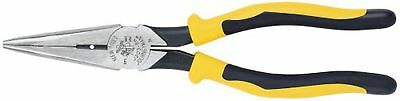 Klein Tools J203-8N 8-Inch Journeyman Long Nose Pliers with Side Cutting