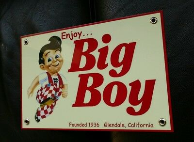 Big Boy Hamburgers sign ...restaurant fast food