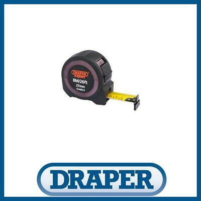 Draper 59778 8M  26Ft x 27mm Wide Measurer Builders Tape Measure Metric Imperial