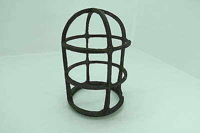 6+1/4 Inch Tall R+S Co Bronze Light Cage Frame Boat Ship Brass (#810)