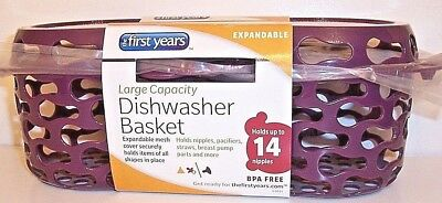 Nip Expand Mesh Large Capacity Dishwasher  Baby 14 Nipples Breat Pump Pacifiers