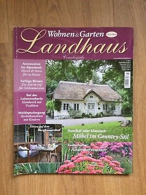 Wohnen Garten Landhaus Zeitschrift wohnen garten landhaus zeitschrift ausgabe 3 2011 möbel im