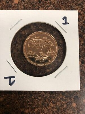 1972 Jamaica Proof Gold $20 Dollars 10th Anniv of Independence