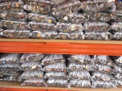 100kg of  World Coins - Free Shipping in Australia!