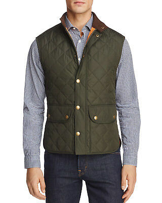 Barbour Men's Lowerdale Vest (Olive, XXL)