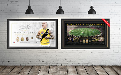 Richmond Tigers Year To Remember Memorabilia Package $999 Official AFL Dustin