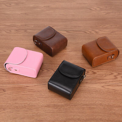 Vintage Leather Camera Case Bag For SONY RX100III RX100M3 TO