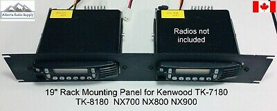 "Kenwood Back-Back Repeater 19"" Rack Mounting Panel TK7180 TK8180 NX700 NX800"