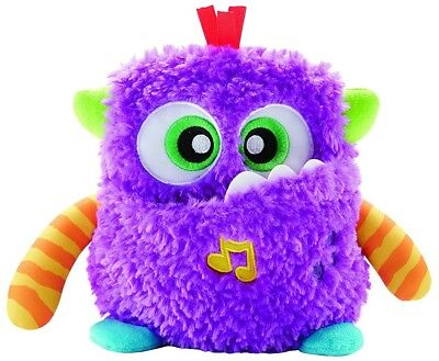 Fisher-Price Giggles 'n Growls Monster ❤ Play with Belly & Arms for cute Sounds!