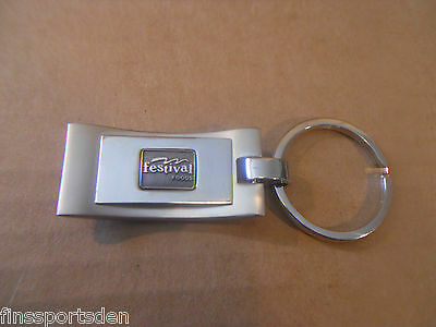 FESTIVAL FOODS ADVERTISING KEYCHAIN Engravable Employee Wisconsin Grocery Store