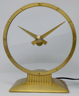 Vtg. 1950s Jefferson 'GOLDEN HOUR' Mystery Clock #580-101, For Parts or Repair