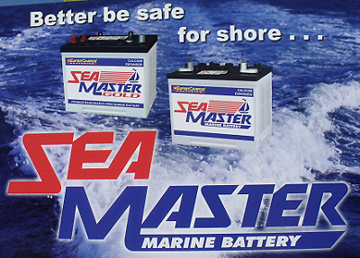Marine Battery, Sea Master, Marine battery