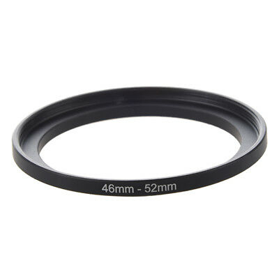 Camera Repairing 46mm to 52mm Metal Step Up Filter Ring Adapter S4W3