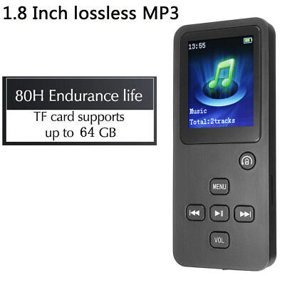 8GB Bluetooth MP3 MP4 Music Player HiFi Lossless TF FM Radio Recorder  64GB