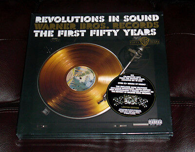 SEALED REVOLUTIONS IN SOUND Warner Bros First 50 Years NEW 10-CD BOX Limited Ed.